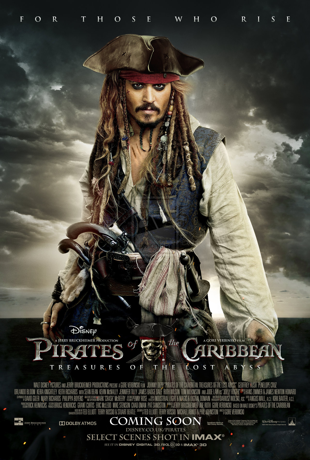 PIRATES 5  Exclusief in 6D